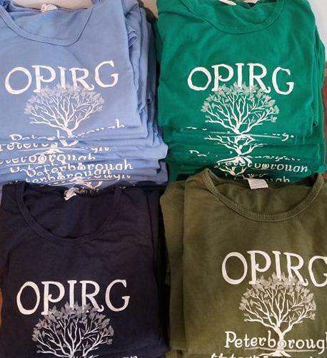 OPIRG t-shirts