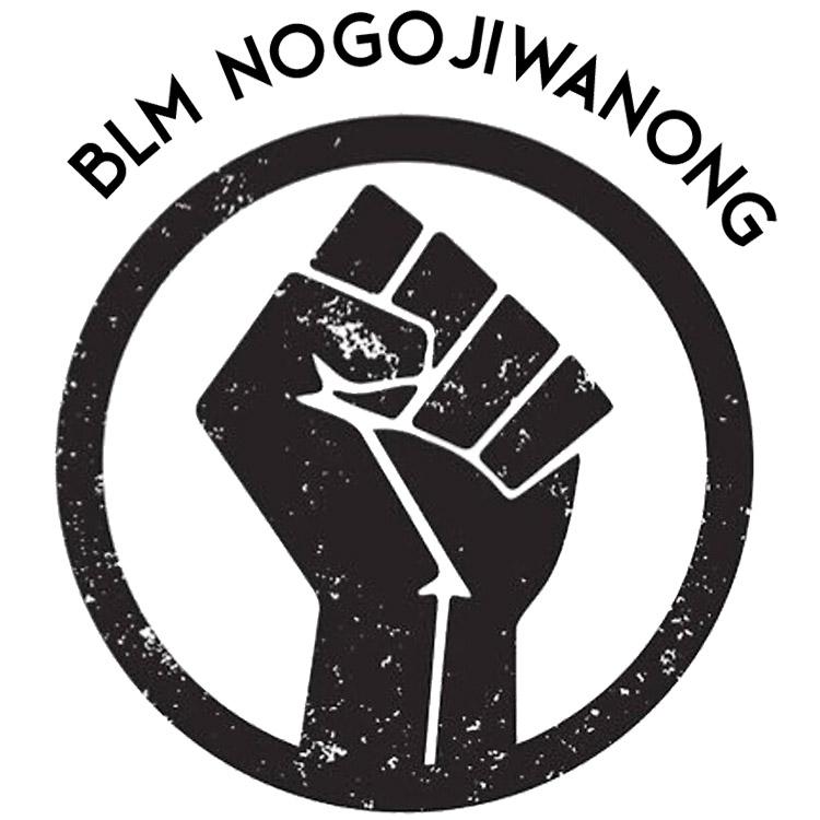 BLM Nogojiwanong: Black Lives Matter icon