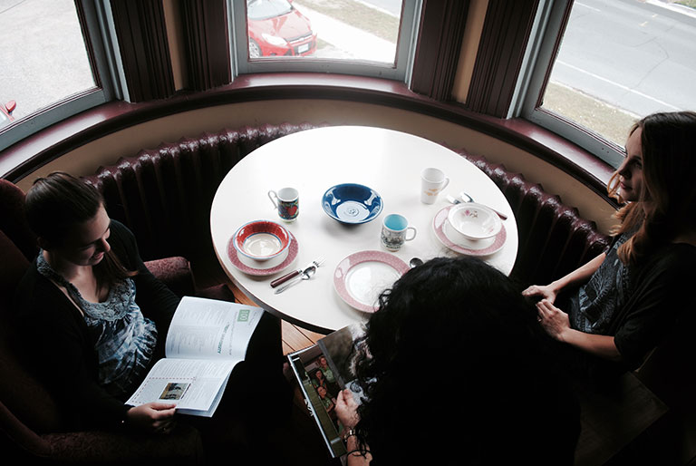 Working group meeting at Sadleir House in Peterborough Ontario