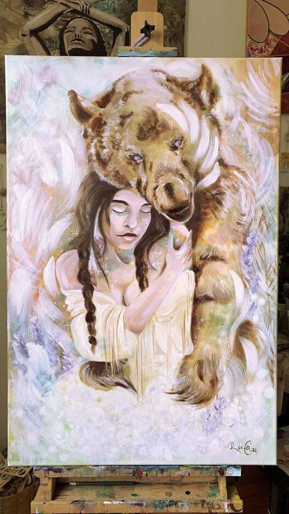 Nuin-Tara Wilson, visual artist & painter