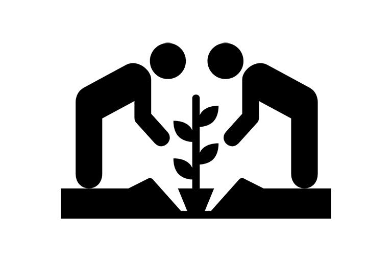 Planting / Sponsorship icon